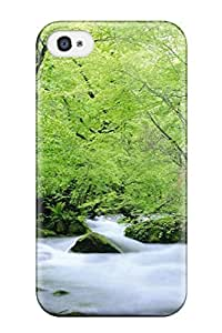 Noar-Diy 4/4s Scratch-proof protective case cover For Iphone/ Hot Green Natures OKEn5m3hyrT cell phone case cover