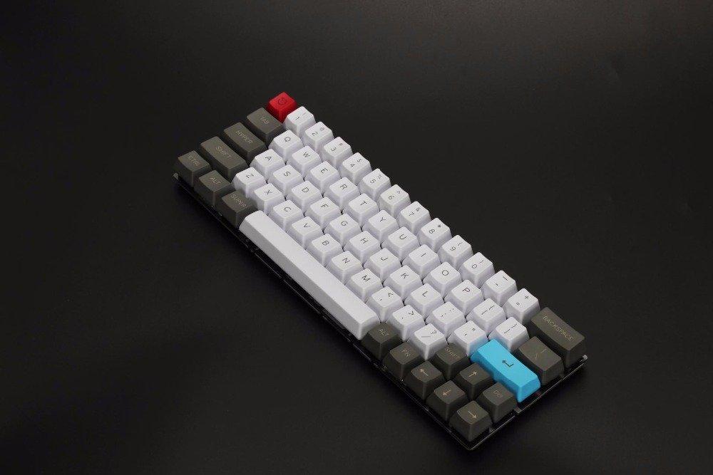 Ymdk su misura 61/64/68/ANSI Keyset OEM profilo spesso PBT Keycap set per Cherry MX tastiera meccanica GH60/XD64/GK64/TADA68
