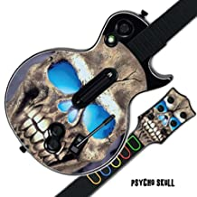 Mightyskins Protective Skin Decal Cover Sticker for GUITAR HERO 3 III PS3 Xbox 360 Les Paul - Psycho Skull