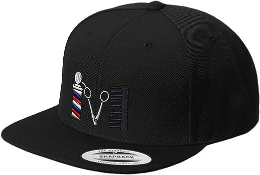 Fashion Barber Tool Flat Bill Dad Hats Classic Baseball Caps