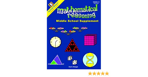 Math Worksheets fun middle school math worksheets : Mathematical Reasoning: Middle School Supplement: 9781601444110 ...