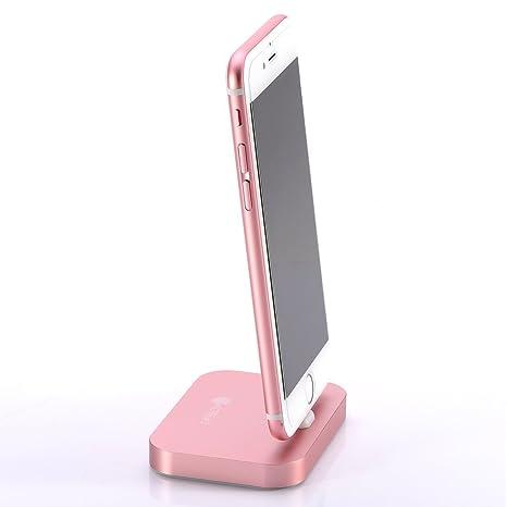 FOTOWELT iPhone/Apple Soporte Reloj, [2 en 1 Estación de ...