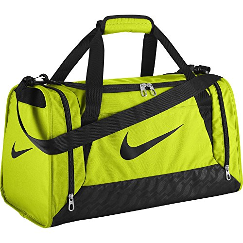 6f6f5d955c8 Nike Brasilia 6 Duffel Bag (Small, VOLT BLACK BLACK) - Buy Online in Oman.    Sports Products in Oman - See Prices, Reviews and Free Delivery in  Muscat, ...