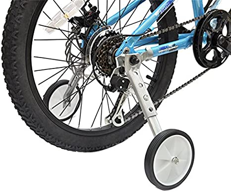 MOL Bicycle Tank Training Wheels Stronger Version Design with Reinforced Metal Adjustable for 16 18 20 22 inch Kids Bike