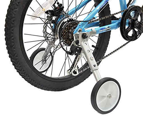 CHILDHOOD Bicycle Training Wheels Fits 18 to 22 inch Kids Variable Bike(Grey) by CHILDHOOD (Image #5)
