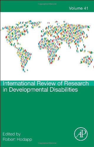 International Review of Research in Developmental Disabilities: 41 (2011-11-03) (International Review Of Research In Developmental Disabilities)