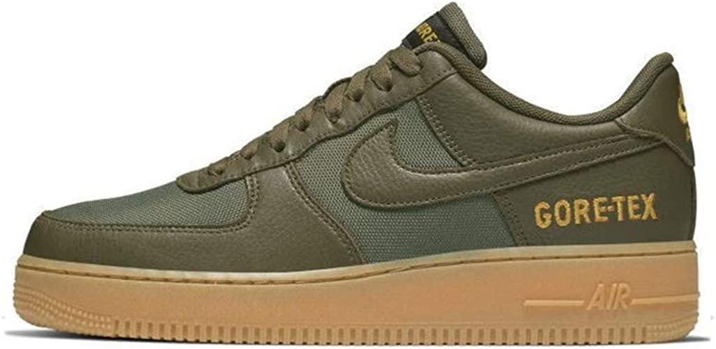 Nike Air Force 1 GTX medium OliveSequoia Gold Black