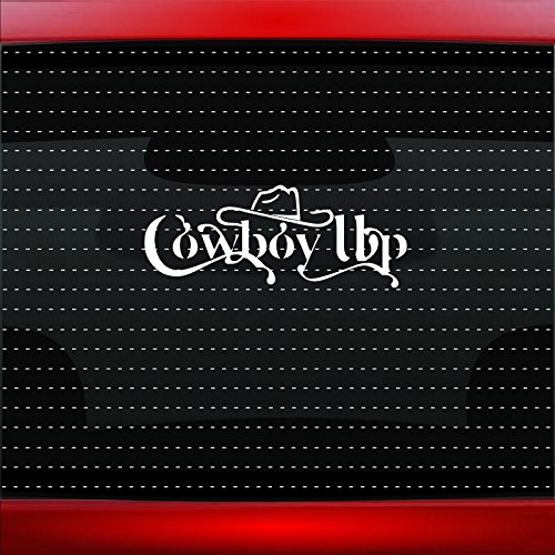 """40/"""" Cowgirl #2 Country Up Redneck Girl Hat Car Decal Sticker Windshield Banner"""