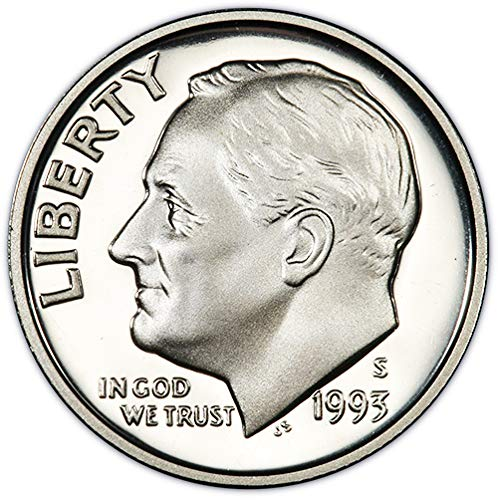 1993 S Silver Proof Roosevelt Dime Choice Uncirculated US ()