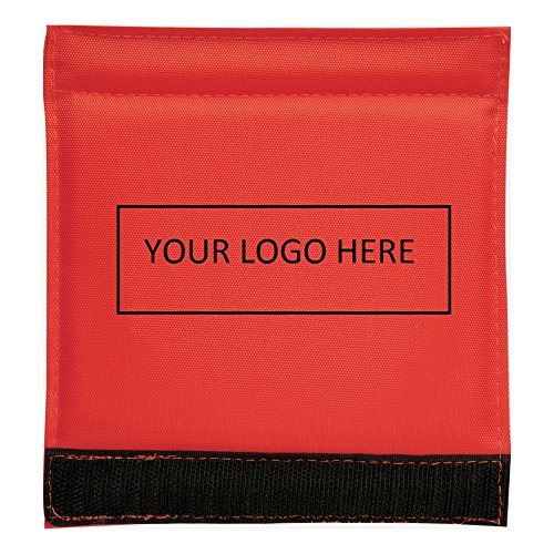 Luggage Spotter Handle Wrap Bag Tag with Inside ID Pocket to Insert Business Card - 100 Quantity Bulk - $1.95 Each includes logo - PROMOTIONAL PRODUCT BRANDED w/ YOUR LOGO / GREAT TRADE SHOW GIVEAWAY! by China (Image #5)