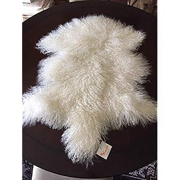 Amazon Com Beautifur Mongolian Tibetan Lambskin Sheepskin