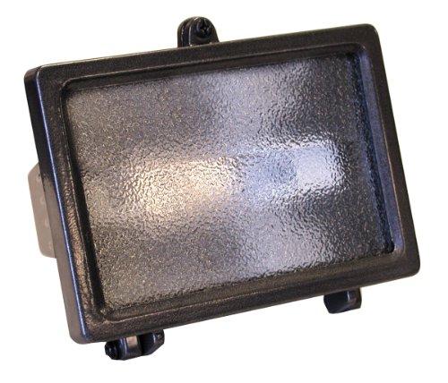 UPC 016963557109, Heath/Zenith SL-5571-BZ 150-Watt Halogen Floodlight, Bulb and Backplate Included, Bronze
