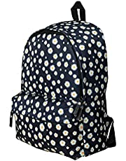 Casual Backpack With Front Zipper Pocket - Black