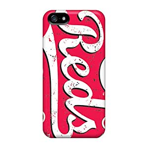 Great Cell-phone Hard Covers For Iphone 5/5s (lNb18746Iags) Support Personal Customs Colorful Cincinnati Reds Image