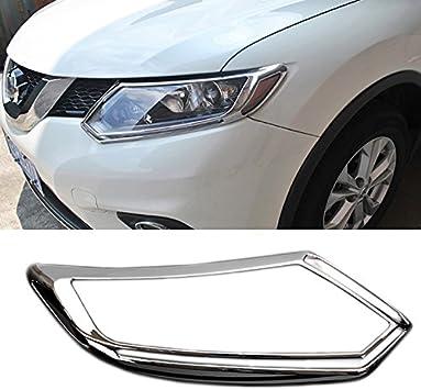 For Nissan X-Trail Rogue 2014-2016 ABS Chrome Rear Brake Light Cover Trim Frame