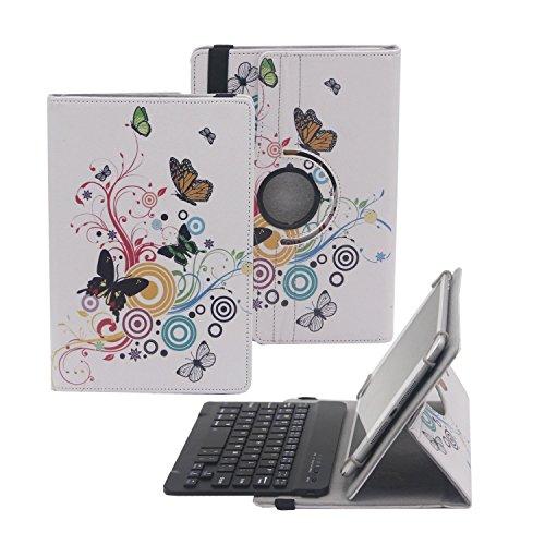 "Tsmine Polaroid 10"" Bluetooth Keyboard w/ Painting Case -..."