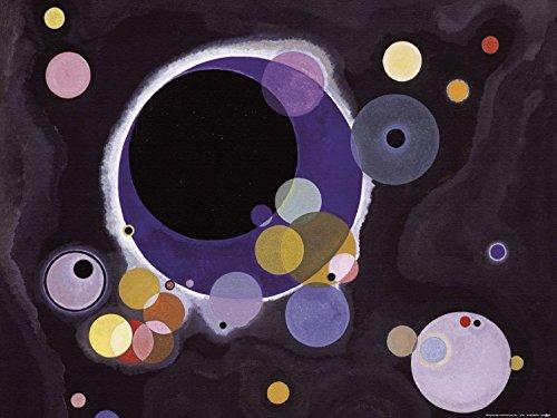 Posters: Wassily Kandinsky Poster Art Print - Several Circles, 1926