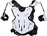 EVS F2 Roost Guard , Distinct Name: White, Size: Sm, Primary Color: White, Gender: Mens/Unisex F2WH-S