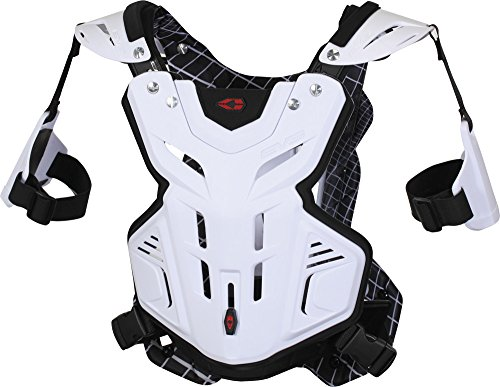 EVS F2 Roost Guard , Distinct Name: White, Size: Sm, Primary Color: White, Gender: Mens/Unisex F2WH-S by EVS