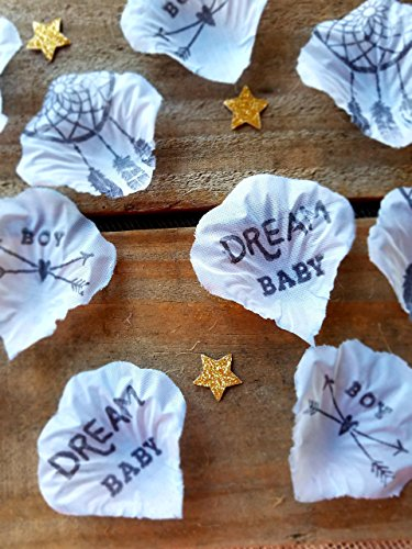 Baby Shower Table Decorations Baby Boy Blue and Gold Confetti Dream Baby (150 pieces) (Table Centerpiece Baptism Ideas)
