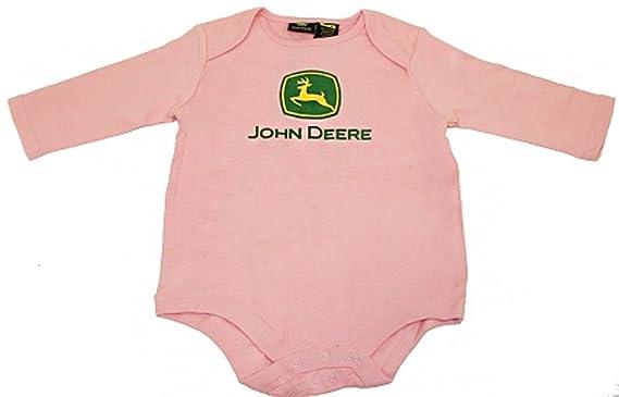 John Deere - Body - Bébé (fille) 0 à 24 mois rose rose - rose - 6 ... ef1c40b49c0