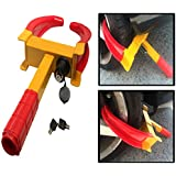 Heavy Duty Wheel Lock Clamp Truck Anti-Theft Tire Claw Boot RV Trailer Boat Auto Fits all Tires