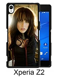 Beautiful And Unique Designed Case For Sony Xperia Z2 With Halestorm Girl Band Look Sunlight black Phone Case