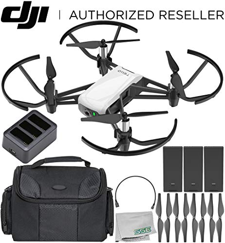 Ryze Tech Tello Quadcopter Boost Combo with Carrying Case Bundle