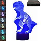 3D Illusion Lamp Gawell Dinosaur 7 Changing Colors - Best Reviews Guide