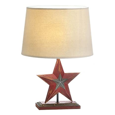 Exceptionnel Texas Lone Star Table Lamp, Home Decor