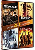 DVD : 4-in-1 Action Collection - S.W.A.T./Basic/Maximum Risk/Stealth