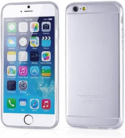 For iPhone 6 4.7inch, Mchoice ULTRA THIN 0.3mm Clear Rubber Soft TPU Cover Case for iPhone 6 4.7inch