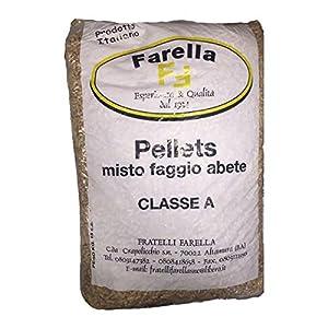 Pellet Farella 15kg Ideale per stufe e caldaie a pellets 7 spesavip