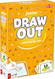 Tactic Games US Draw Out Junior Board Games (162 Piece), Orange, 7.5'' x 2.35'' x 10.35''