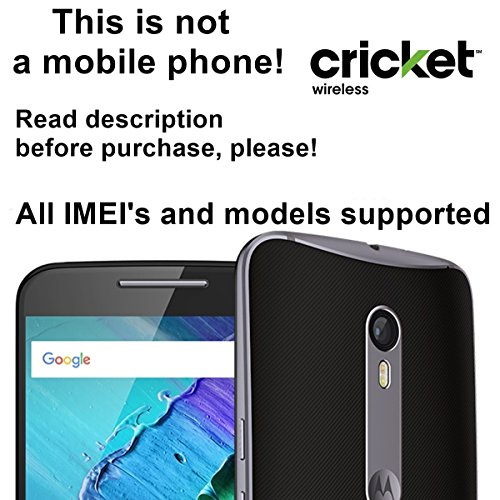 Cricket USA Factory Unlock Service for Motorola Mobile Phones Which Ask For an Unlock Code - All IMEI`s Supported - Feel the Freedom
