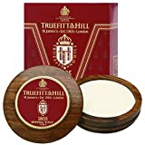 TrueFitt & Hill 1805 Luxury Shaving Soap in Wooden Bowl 99g