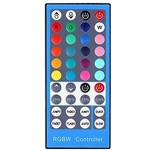 SUPERNIGHT 40 Keys Infrared Remote RGBW IR Controller For 5050 3528 RGBW RGBWW LED Strip Lights