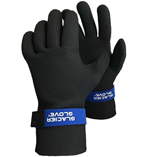 Glacier Glove Kenai Waterproof Glove, Black, Small by Glacier Glove