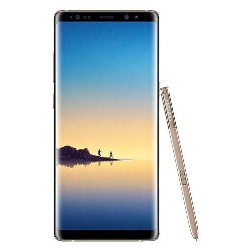 Samsung Galaxy Note8 Smartphone débloqué 4G Ecran 6 3 pouces 64 Go 6 Go RAM Simple Nano SIM Android Nougat 7 11 Or Topaze