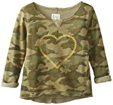 Billabong Big Girls' Seaside Thunder Pullover Sweatshirt
