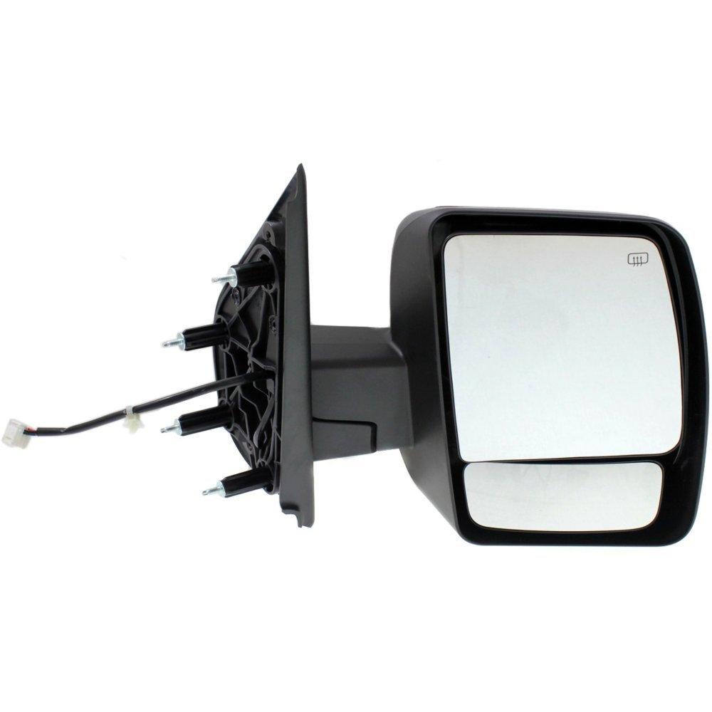 Mirror for Nv Series Full Size Van 12-18 Right Side Power Man Fldg Heated Sl//Sv Mdls Textured Black Kool Vue NS119ER