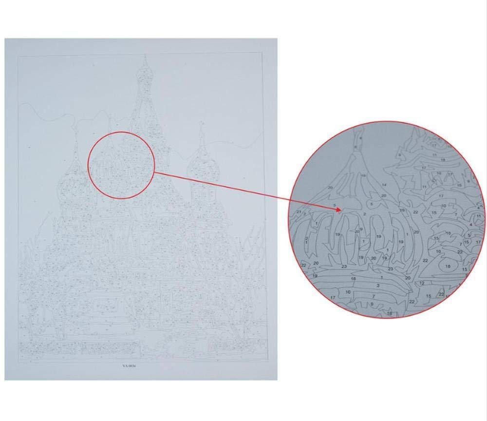 40X50 Cm ygghj Dipingere con I Numeri Foto Fai da Te Digitale Pittura A Olio Decorazione Immagini Van Gogh