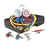 digital ac manifold gauge set - CarBole 4 Way AC Manifold Gauge Set R502 R22 R12 R134A HVAC Diagnostic Charging Tool