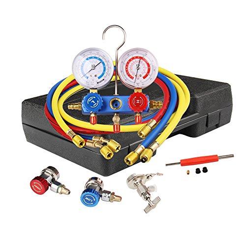 digital ac manifold gauge set - 9
