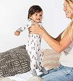 Burt's Bees Baby Unisex 1-Pack Pajamas, Baby Trees, 12 Months