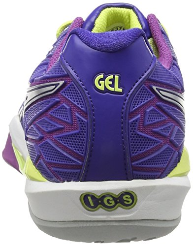 Lightning Grape 4393 Clematis Asics Damen Gel Blau Blue fireblast Hallenschuhe 0wRqT