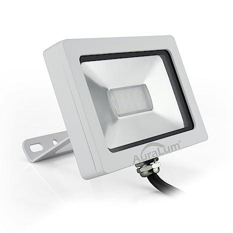 Auralum 10W SMD 3030 750LM Blanco Natural Luz Proyector LED Foco ...