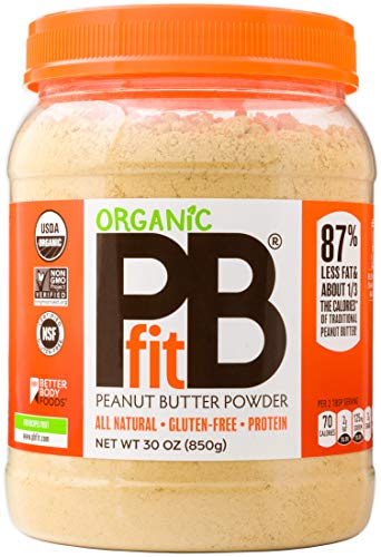 PBfit All-Natural Organic Peanut Butter Powder, Powdered Peanut Spread from Real Roasted Pressed Peanuts, 8g of Protein (30 oz.) (Best No Bake Chocolate Peanut Butter Oatmeal Cookies)