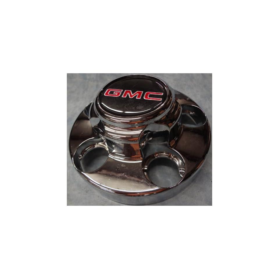 16 Inch OEM GMC 5 Lug Chromed Plated Center Cap Hubcap Wheel Rim Cover, 1988 2002 1500 Pickup Truck VAN Suburban Yukon Part Number # 46254 1613 6.75