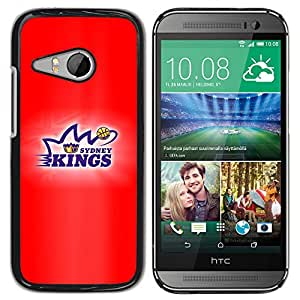 KeeLan Tech Funda Carcasa protectora - Reyes Baloncesto - HTC ONE MINI 2 / M8 MINI